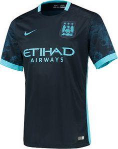 Maglia Manchester City Seconda 2015-2016