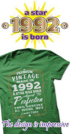 1992 a star was born