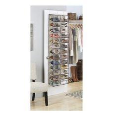 Rebrilliant 80 Pair Shoe Rack | Wayfair Closet Shoe Storage, Boot Storage, Shoe Shelves, Shoe Storage Cabinet, Bench With Shoe Storage, Shoe Rack With Shelf, Closet Organization, Toilet Storage, Diy Storage