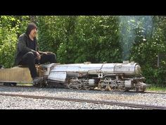 Big Boys and Great Toys: Live Steam Garden Railway and Real Steam Trains on Backyard Railroad Live Steam Locomotive, Garden Railroad, Steam Railway, Steamers, Train Set, Rc Cars, Model Trains, Big Boys, Scale Models