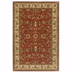 Home Decorators Collection Toulouse Red 8 ft. x 11 ft. Area Rug  on  Daily Rug Deals