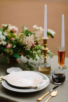 This darling place setting was photographed by Jeff Brummett. Designer + Planner was Embrace the Day Events.  #bridesofnorthtx  #wedding #placesetting
