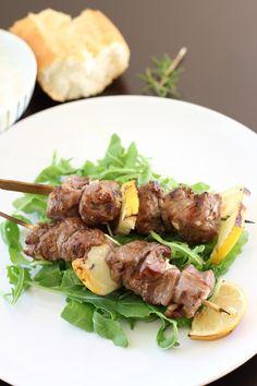 lamb kebabs - dang that's delicious