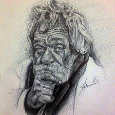 Homeless-Pen on paper