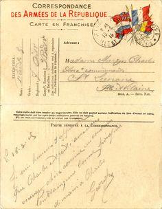 Correspondance des Armées - Georges Raulx pour Mme Marzin Charles à Saint-Lunaire le 16 mars 1915 (from http://mercipourlacarte.com/picture?/1080/)