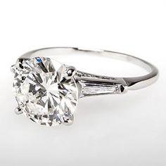 Vintage 2 Carat Diamond ...