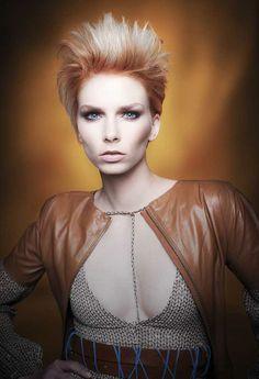 """Desert Light"" Hair   Coiffure: Eli Mancha for Pivot Point International Styling   Stylisme: Marta Cebrat Makeup   Maquillage: Fredy Photo: Babak #Hair #Style #Fashion #Desert #Light #Hairbrained"