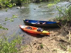 Haw River canoe trip April 2017