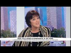 8 avril 2016: Anny Duperey et Gilles Paillard, directeur général de SOS Villages d'Enfants étaient en direct chez LCI pour parler de l'association et de ses 60 ans. 60 ans d'actions en faveur de l'enfance !