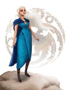 Daenerys Targaryen (Dany, Khaleesi) from GAME OF THRONES (Song of Ice and Fire) by Leann Hill