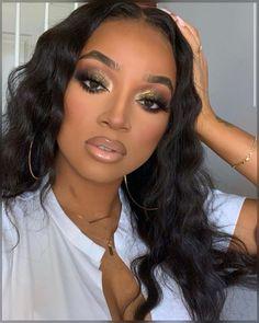 (paid link) skin care routine order. **Read more at the image link. Makeup For Black Skin, Makeup Eye Looks, Black Girl Makeup, Creative Makeup Looks, Cute Makeup, Girls Makeup, Gorgeous Makeup, Hair Makeup, Black Makeup Looks