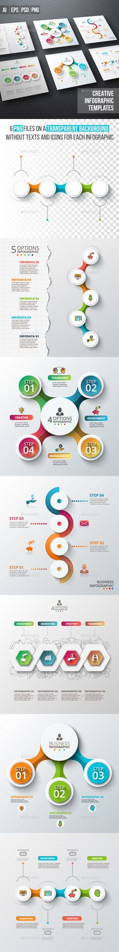 Business infographic diagrams. Download: https://graphicriver.net/item/business-infographic-diagrams-v03/18747565?ref=thanhdesign