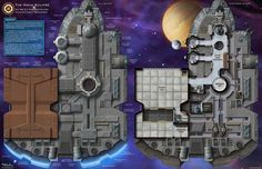 Mass Transit IV: The Nova Eclipse The hull surface and upper deck of a transport…