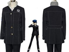 Halloween Costumes: Persona 4 Womens Naoto Jacket Costume Cosplay New BUY IT NOW ONLY: $63.95