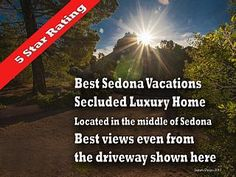 Best Sedona Vacations 5 Star  Luxury Home Breathtaking Views - Middle of   Vacation Rental in Arizona from @homeaway! #vacation #rental #travel #homeaway
