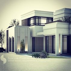 Still … In the mood of classic modern twist …. Being developed …. Al surra… Still … In the mood of classic modern twist …. Being developed …. Al surra… - Add Modern To Your Life Neoclassical Architecture, Classic Architecture, Residential Architecture, Architecture Design, Classic House Design, Modern Villa Design, Plano Hotel, Eco Deco, Modern Mansion