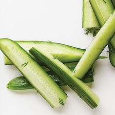 Try this cool and crunchy vegetable side dish on a warm day.