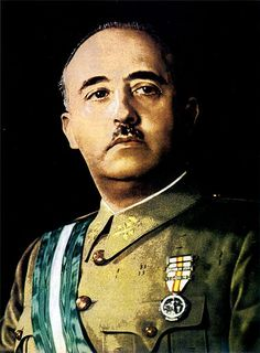 Francisco Franco, dictador español desde 1939 hasta su muerte el 20 de noviembre de 1975.