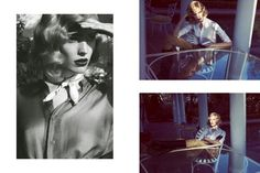"""Camilla Akrans photographs """"Stills from a movie"""" for Vogue Italia, March 2015"""