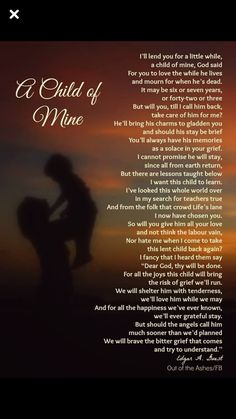 For All Mothers Who Have Lost A Child Quotes Grieving