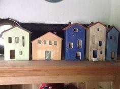 Clay Houses, Ceramic Houses, Miniature Houses, Hobby, Bird, Craft, Outdoor Decor, Ideas, Home Decor