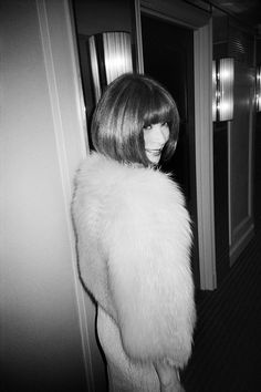 Anna Wintour, editor-in-chief of Vogue since 1988, artistic director for Condé Nast since 2013.