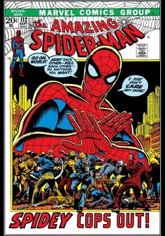 "The Amazing Spider-Man #112 ""Spidey Cops Out!"" (September, 1972)"