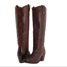 Frye Jackie Button Tall Boots Sexy Size 10 Hot!