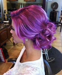 Cabello violeta, como lograrlo. ~ Bella en Casa.com