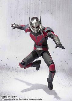 SH Figuarts ant Man Civil War 005