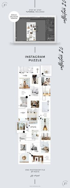 26 Best Instagram Puzzle Theme images in 2019 | Page layout