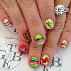 7 Best Vacation Nails Images On Pinterest Vacation Nails Holidays