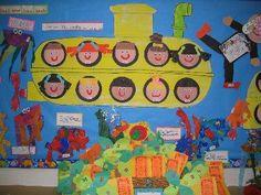 submarine (birthday board?)