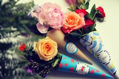 Flowers Ice Cream / Free Download   http://alicesurlegateau.fr/diy-langage-fleuri/