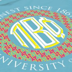 Pi Beta Phi - Monogrammed Design - Pi Phi - Sorority shirts - Check out b-unlimited.com! Pi Beta Phi, Gamma Phi, Phi Mu, Sorority Outfits, Sorority Life, Sorority Shirts, Kappa Clothing, Greek Clothing, Clothing Company