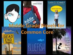 Best books to read in Middle School. Also meets common core standards.