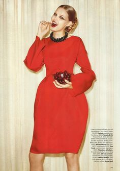 Red Hot Fashion : Lindsey Wixson : US Harper's Bazaar October 2011 : Terry Richardson