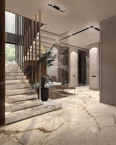 Home Discover [New] The 10 Best Home Decor Today (with Pictures) Shop Interior Design Luxury Interior Interior Design Inspiration Interior And Exterior Hotel Lobby Design Stairs Architecture Interior Architecture Dream Home Design House Design Home Stairs Design, Dream Home Design, Modern House Design, Home Interior Design, Luxury Interior, Modern Glass House, Interior Lighting, Interior Paint, Modern Stairs