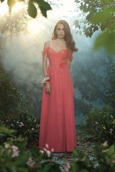 Disney Princess inspired bridesmaid dresses