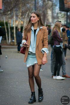 London Fashion Week Fall 2017 Street Style: Vera Van Erp