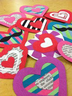 Valentine Bookmarks!
