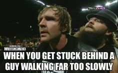 What the hell is he doing? Funny Wrestling, Wrestling Quotes, Wwe Funny, Watch Wrestling, Wrestling Stars, Le Shield, The Shield Wwe, Bray Wyatt, Wwe Tna