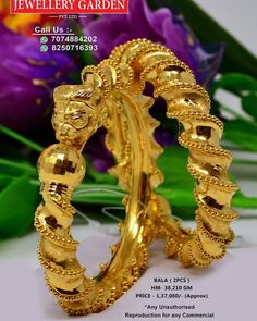 Indian Gold Jewelry Near Me Gold Jewelry For Sale, Golden Jewelry, Bridal Bangles, Gold Bangles, Most Expensive Jewelry, Gold Costume Jewelry, India Jewelry, Gold Jewellery, Gold Earrings Designs