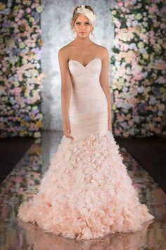 Colored Wedding Dresses, Wedding Dresses, 2013 Wedding Trends, Color Trends || Colin Cowie Weddings
