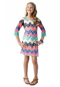 My Michelle Chevron Crocheted Dress - Girls 7-16 #Kohls | Style ...
