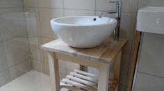 Cloakroom Vanity Unit Washstand, for Basin Sink, Solid Birch, showroom £255 in Home, Furniture & DIY, Bath, Sinks | eBay