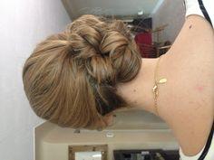 Bridesmaids Hair side updo