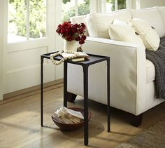 Cast Iron Side Table | Pottery Barn