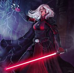 Darth Talandras by Natalie Herrera - Your Daily Dose of Amazing beautiful Creativity and Digital Art - Fantasy Characters: Archers Assassins Astronauts Boners Knights Lovers Mythology Nobles Scholars Soldiers Warriors Witches Wizards Star Wars Characters Pictures, Images Star Wars, Sci Fi Characters, Star Wars Sith, Star Wars Rpg, Star Wars Fan Art, Female Sith, Digital Art Fantasy, Fantasy Art