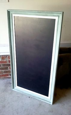 Southern Spruce: DIY Chalkboard Picture Frame